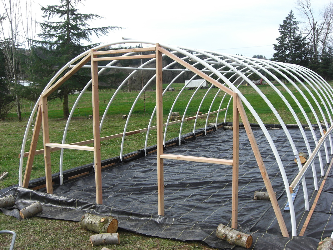 Awesome DIY Hoop Greenhouse   Build End Walls